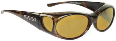 Brown Marble/Yellow Polarised Lenses