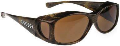 Brushed Horn/Amber Polarised Lenses