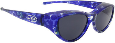 Cat Eye - Blue Crush/Grey Polarised Lenses