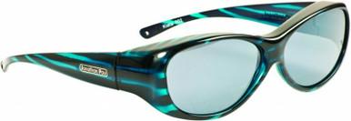 Teal Stripe/Grey Polarised Lenses