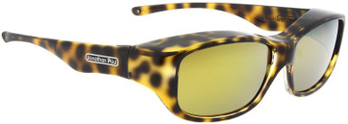 Cheetah/Gold Mirror Polarised Lenses