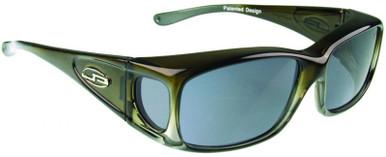 Razor - Olive Charcoal/Grey Polarised Lenses
