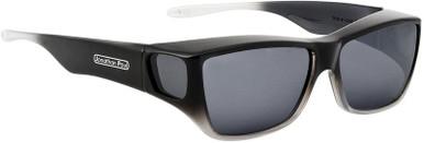 Black Grey Ombre/Grey Polarised Lenses