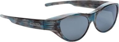 Brushed Teal/Grey Polarised Lenses