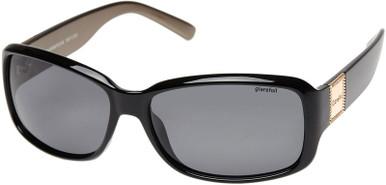 Gloss Black/Grey Polarised Lenses