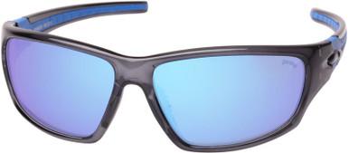 Crystal Slate/Blue Mirror Polarised Lenses