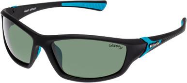 Black Rubber/Green Polarised Lenses