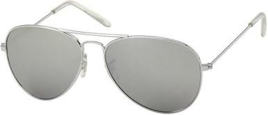 Silver/Silver Mirror Lenses
