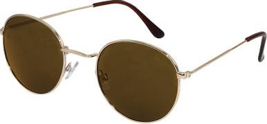 Gold/Brown Flash Mirror Lenses