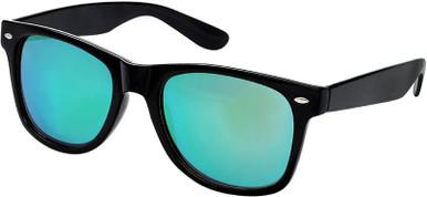 5842 - Black/Green Mirror Polarised Lenses
