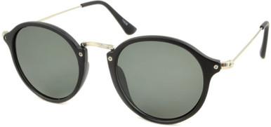 Matte Black/Green Lenses