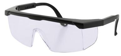 Protective Eyewear - Black/Clear Lenses