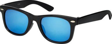 Black/Blue Mirror Lenses