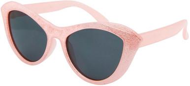 Pink Sparkle/Smoke Polarised Lenses