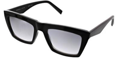 Kamilla - Black/Silver Flash Mirror Lenses