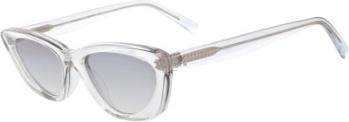 Alessia - Crystal Clear/Grey Gradient Lenses