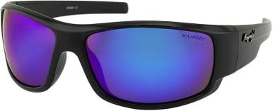 Spider - Black/Blue Mirror Polarised Lenses