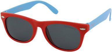 Mangrove Jacks Kids 048 - Red and Light Blue/Smoke Polarised Lenses