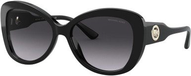 Black/Dark Grey Gradient Lenses 56 Eye Size