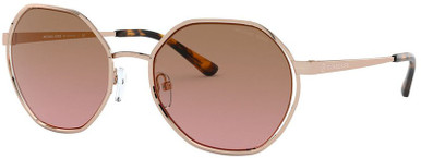 Rose Gold/Brown Pink Gradient Lenses