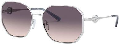 Santorini MK1074B - Silver/Navy Pink Gradient Lenses