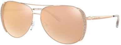 Rose Gold/Rose Gold Flash Mirror Lenses