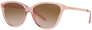 Tulum MK2139U - Transparent Pink/Brown Pink Gradient Lenses
