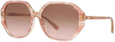 Pasadena MK2138U - Rose Transparent /Brown Pink Gradient Lenses