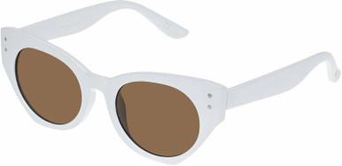 Haven - White/Brown Lenses