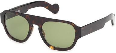 ML0096 - Dark Havana/Green Lenses