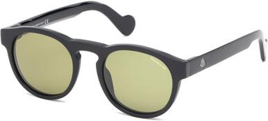 ML0099 - Black/Green Lenses