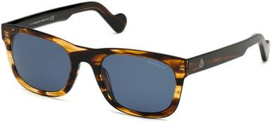 ML0122 - Dark Brown/Blue Polarised Lenses