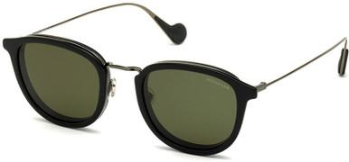 ML0126 - Black/Green Polarised Lenses