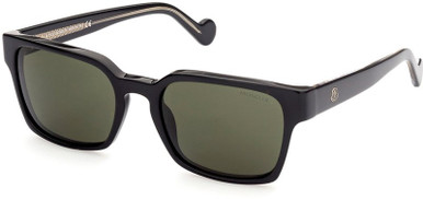ML0143 - Black and Crystal/Green Lenses