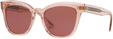 Marianela OV5372SU - Washed Rose/Burgundy Gold Lenses
