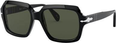 Black/Green Lenses