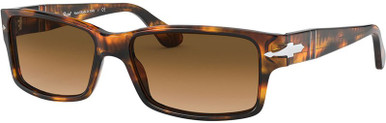 PO2803S - Caffe/Clear Brown Gradient Lenses