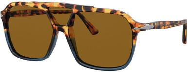 PO3223S - Havana Yellow and Blue/Brown Lenses