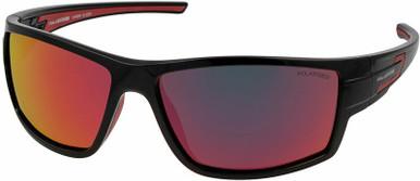 Slider - Black/Red Mirror Polarised Lenses