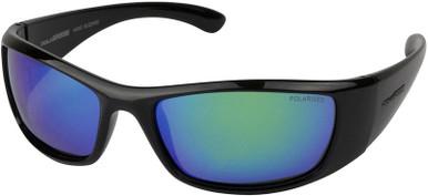 Blizzard - Black/Green Polarised Lenses