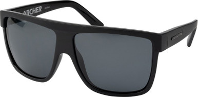 Archer - Matte Black/Grey Polarised Lenses