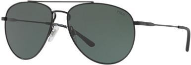 PH3111 - Demi Shiny Black/Green Lenses