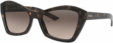 PR 07XS - Havana/Light Brown Grey Gradient Lenses