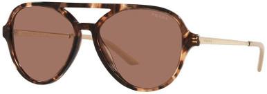 Caramel Tortoise/Dark Brown Lenses