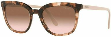 PR 03XS - Caramel Tortoise/Brown Gradient Lenses