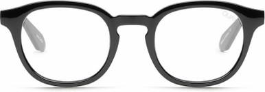 Walk On - Black/Clear Blue Light Lenses
