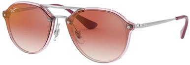Transparent Pink/Red Mirror Lenses