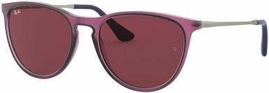 Rubber Transparent Fuchsia/Dark Violet Lenses