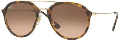 Havana/Pink Brown Gradient Glass Lenses