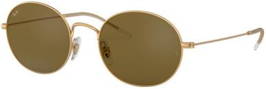 Rubber Gold/Dark Brown Lenses